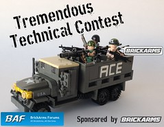 Announcing the BrickArms Forums Tremendous Technical Contest by enigmabadger