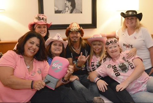 Brett Michaels helps kick off Pinktober at Hard Rock Hotel Orlando