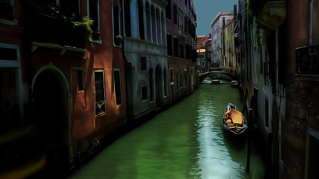 Venice Italy Wallpaper. P1180744. 1080p smoothed dark wm