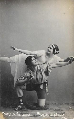 Alexandra Balashova and Mikhail Mordkin