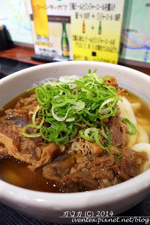 17刀口力日本東京麵通團牛肉烏龍麵