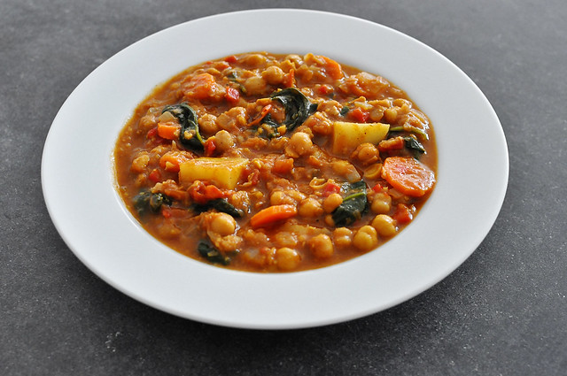 Moroccan Chickpea Stew 3
