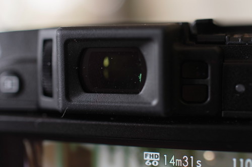 EVF & Diopter adjustment control FUJIFILM X30 15