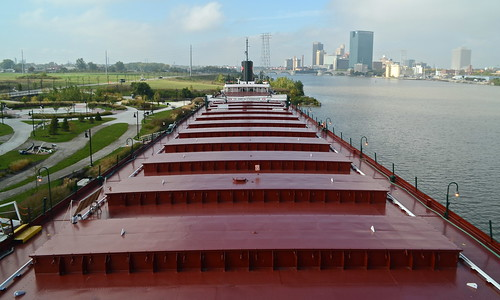 ohio skyline museum river james downtown ship great lakes cargo m deck toledo national col hold schoonmaker maumee