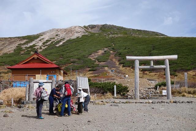 白山セカンドアタック7 御前峰へ!