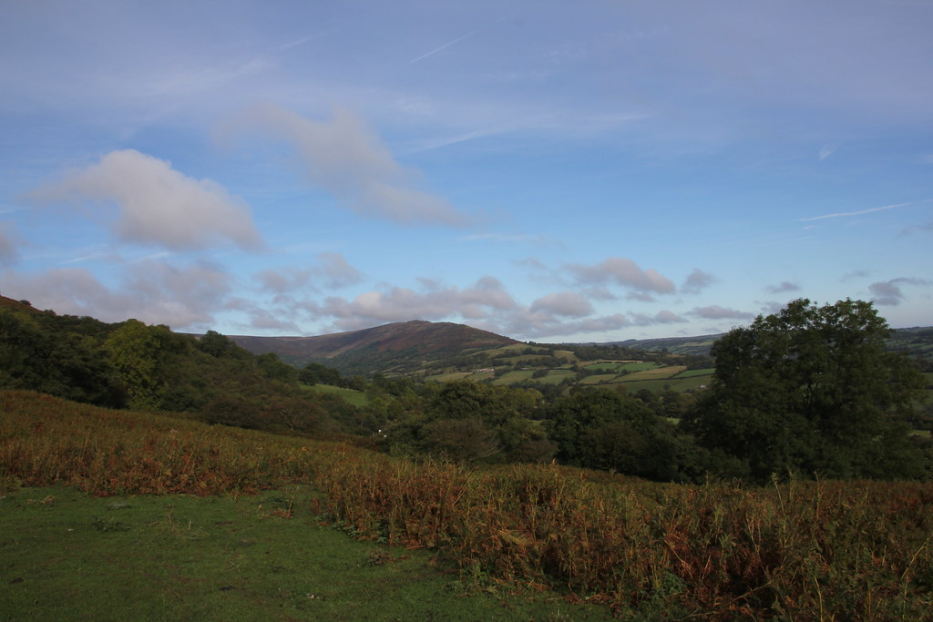 black mountains, black darren, olchon valley, loxidge tump, hatterall hill