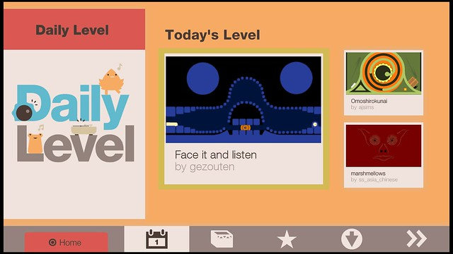 Sound Shapes Daily Level