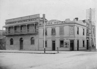 Aurora Hotel, Hindmarsh Square,  1912