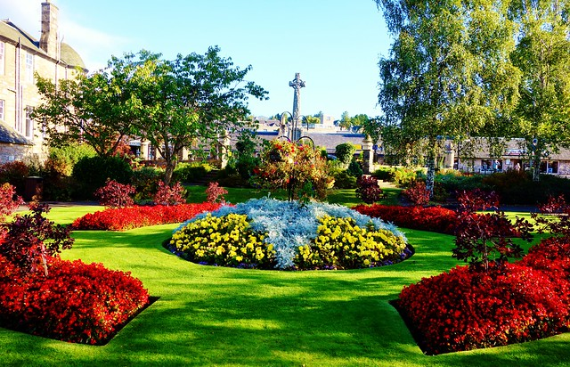Pitlochry in Bloom, Scotland