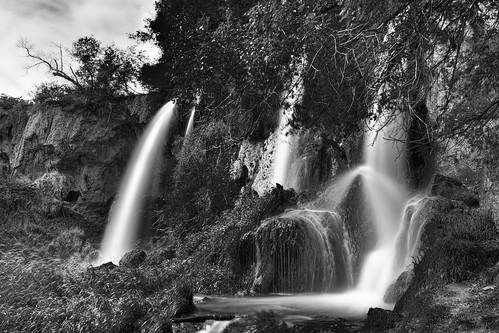 longexposure blackandwhite bw monochrome landscape colorado rifle falls le waterfalls riflefallsstatepark