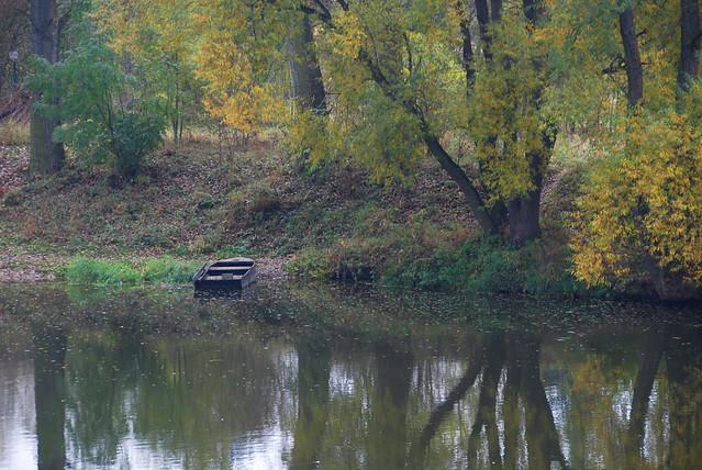 Berounka River, Karlstejn, CZ