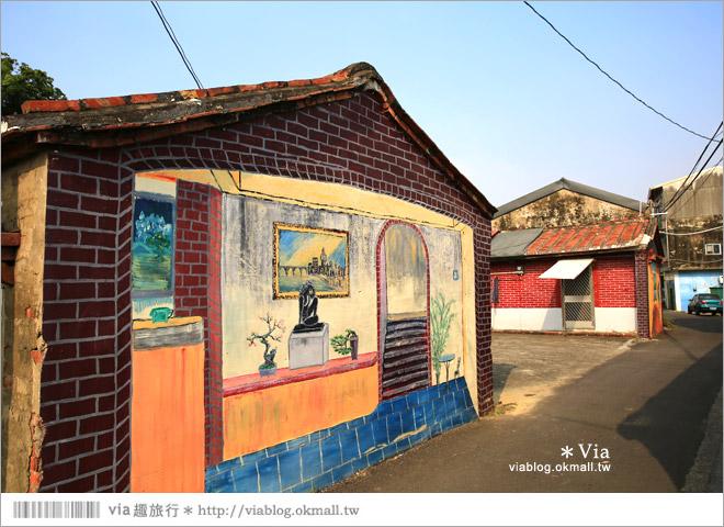 【關廟彩繪村】新光里彩繪村~在北寮老街裡散步‧遇見全台最藝術風味的彩繪村44