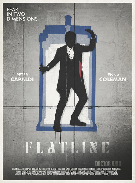 Doctor Who: Flatline Retro Poster