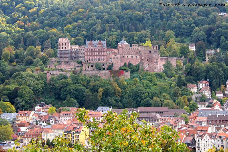 HEIDELBERG - Philosophenweg - Heidelberger Schloss