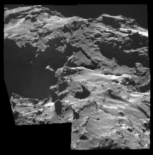 ESA Rosetta: NavCam 15 ottobre 2014