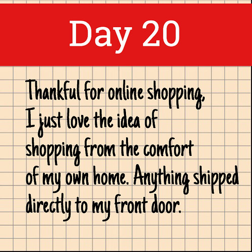 Day 20. Online Shopping