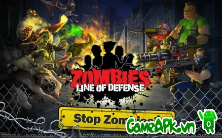 Zombies: Line of Defense v0.7 hack full tiền cho Android