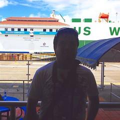 Foto fail en el Canal de Panamá, siempre se veía el fondo al tomar la foto y la sombra de uno nada más