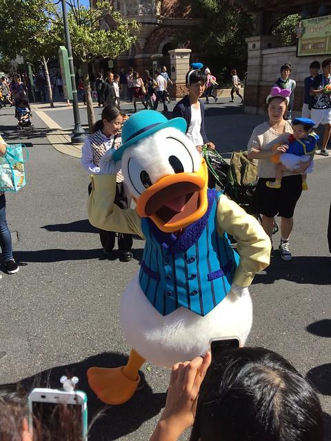 American Waterfront Donald Duck (Tokyo DisneySea)