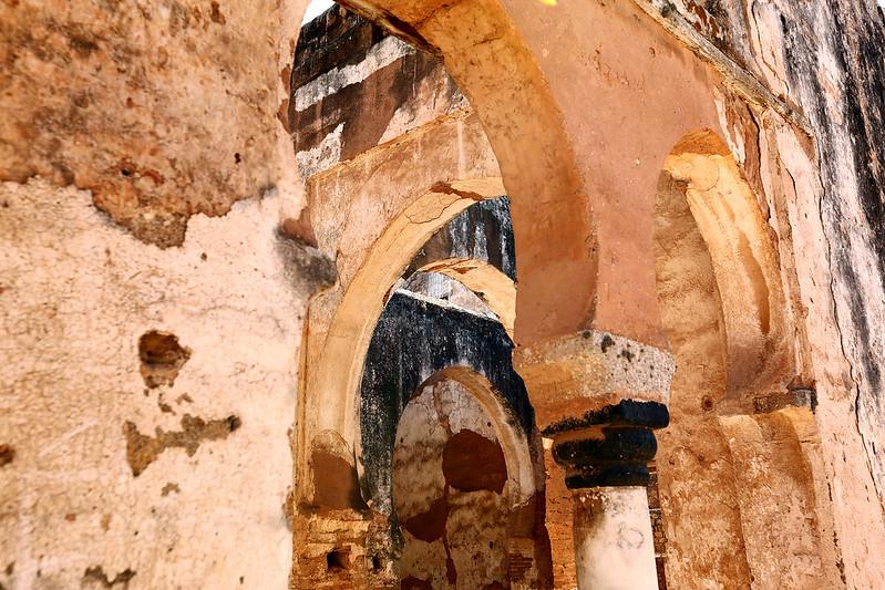 Chellah arches