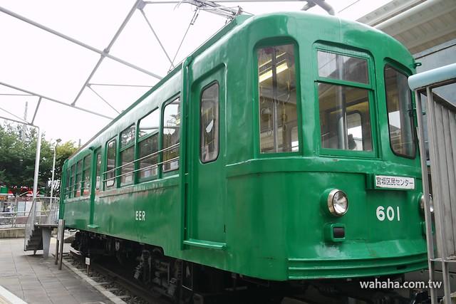 江ノ電601号(東急デハ87)