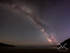 Sand Beach Milky Way Panorama