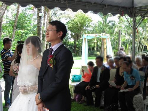 台南商務會館-基督教戶外證婚儀式 (16)