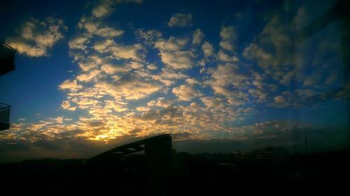school sunset sky architecture clouds evening saturday citédescartes ensavt