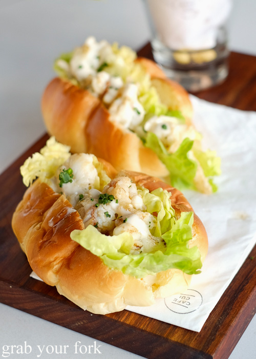Lover-Lover lobster roll at Cafe Cui, Footscray