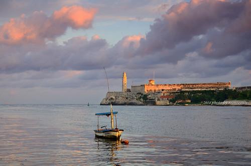 havana cuba 哈瓦那 古巴 castillodelmorro 莫羅城堡