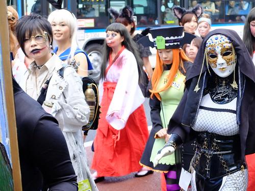 Kawasaki Halloween parade 2014 74