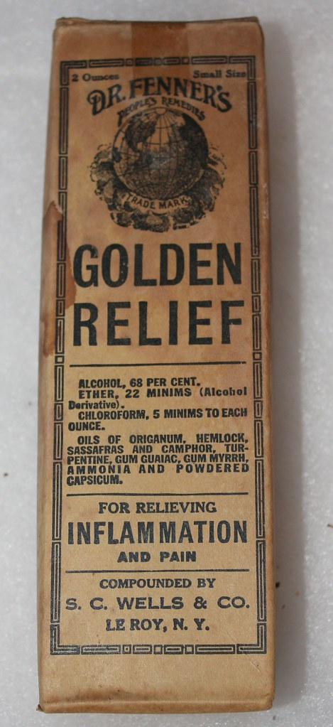 Doctor Fenner's Golden Relief