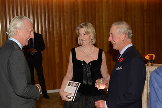 Galen and Hilary Weston, and HRH Prince Charles