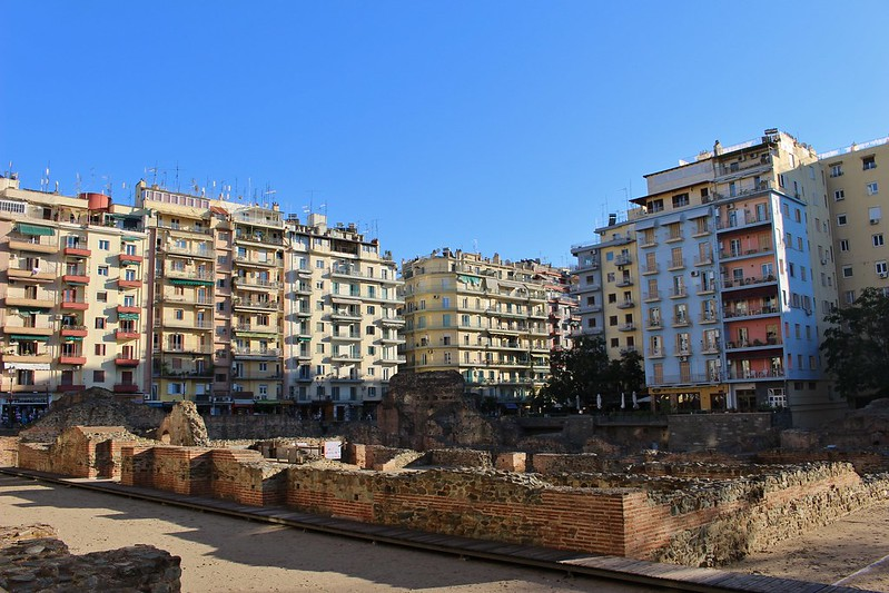 apartments and ruins