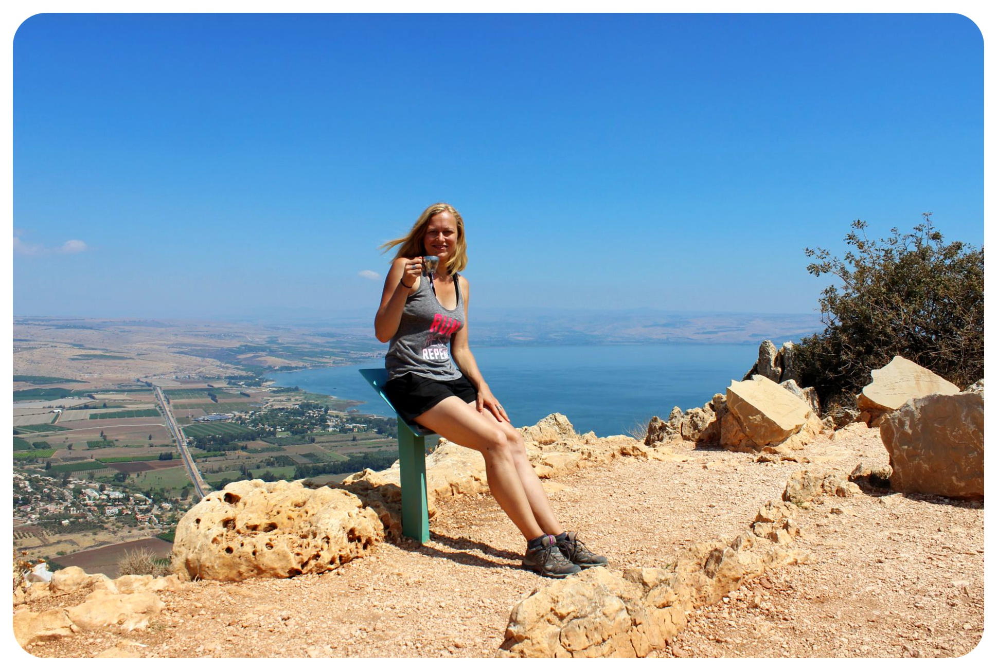israel national trail mount arbel dani