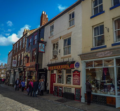 Photo of The Black Horse, Whitby blue plaque