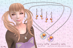 Cozy Latte Jewelry Sets for Oneword November by Sweet Thing.<3