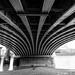 Mudlarking Beneath The Blackfriars Bridge by mendhak