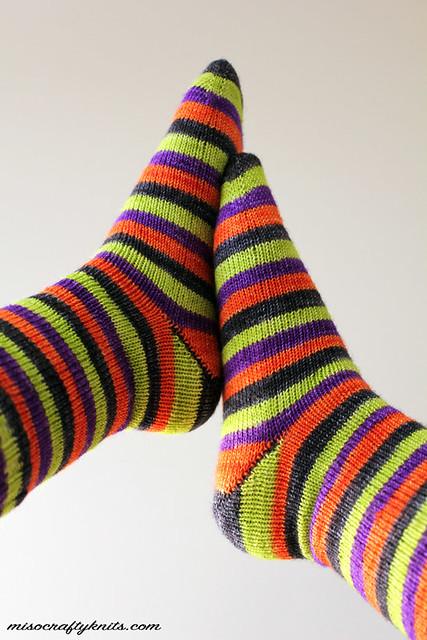 Halloweenie Socks - Heels