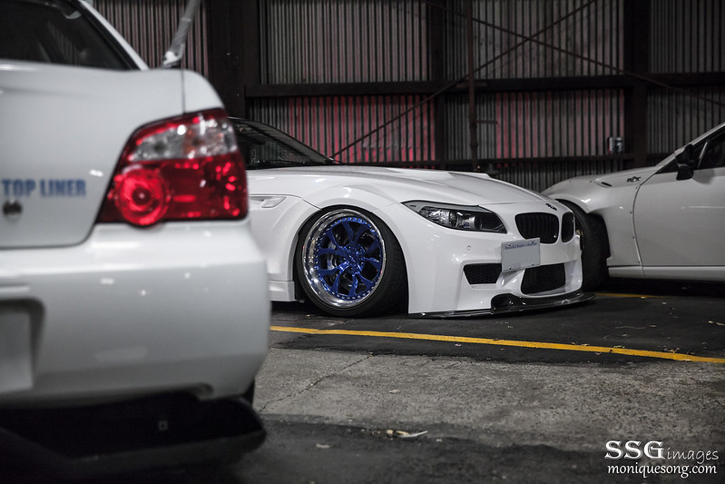 White widebody