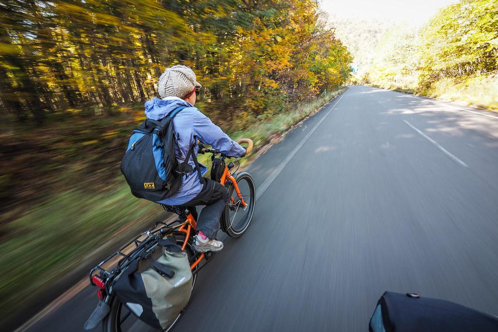 On route 141 connecting Lake Shikotsu with Mt Tarumae (Hokkaido, Japan)