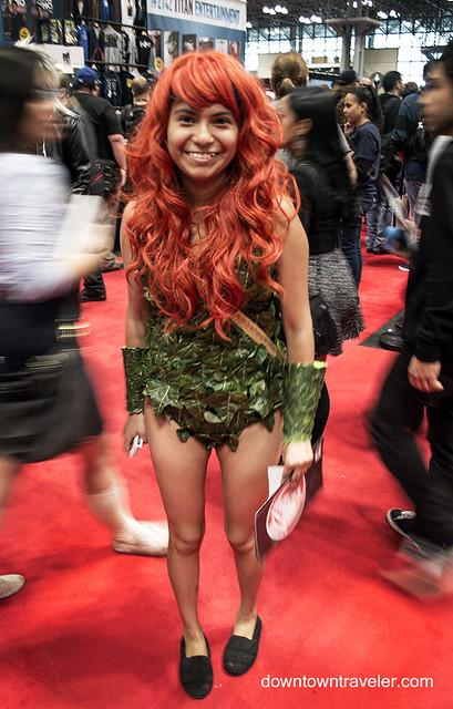 NY Comic Con 2014 Poison Ivy 1
