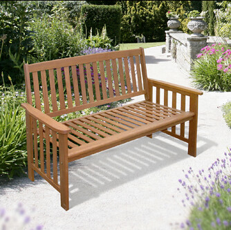 Garden bench from Garden and Homes Direct