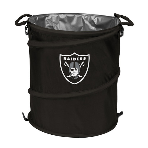 Oakland Raiders Trash Can Cooler
