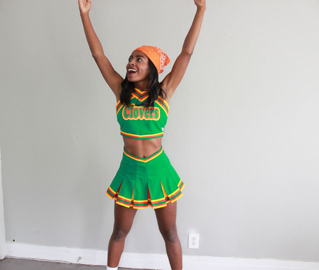 rinny bring it on clovers costume