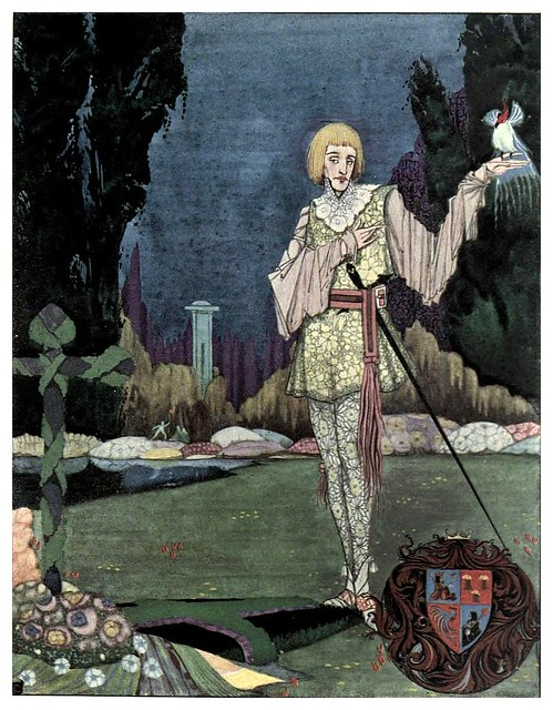 007-La cancion del principe loco-The year's at the spring…1920- ilustrador Harry Clarke
