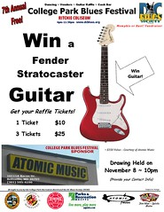 CPBF 2014 Guitar Raffle from Atomic Music