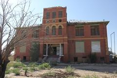Toyah High School Building 3, Toyah, Texas