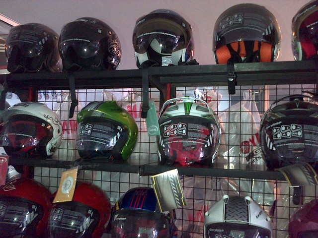 Cargloss Half-Face and Open-Face Helmet