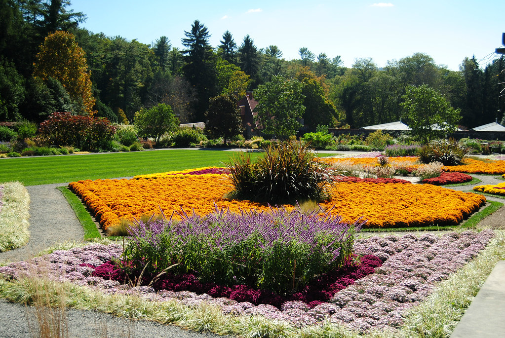 Biltmore Estate fall gardening